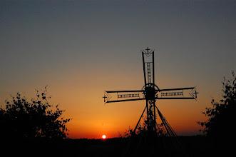 Photo: Zachód słońca w Sadławkach (Sadlauken) koło Zalewa