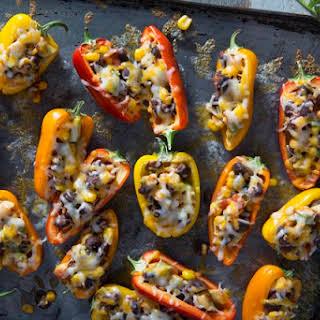 Mini Stuffed Pepper Appetizers.