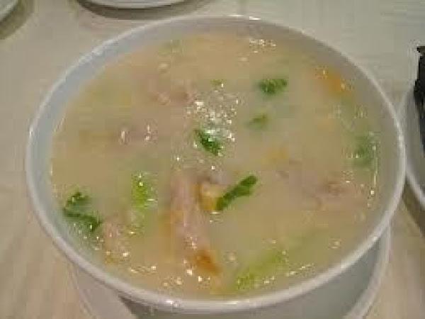 Chinese Ginger Congee (rice Porridge) Recipe