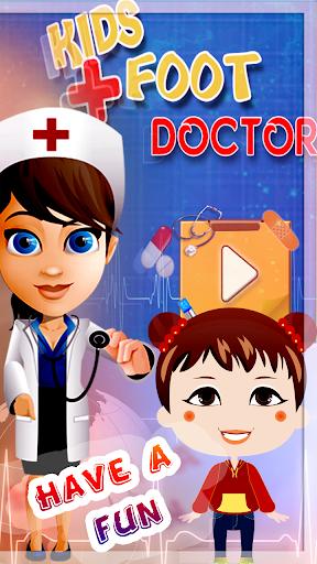 女嬰的腳醫生遊戲
