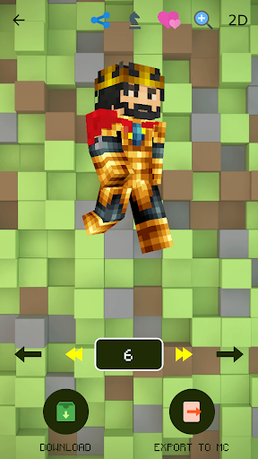 Skins for Minecraft PE 2.4.0 screenshots 4