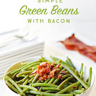 Simple Green Beans with Bacon.