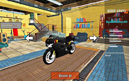 Bike Super Hero Stunt Driver Racing 1.0 screenshots 7