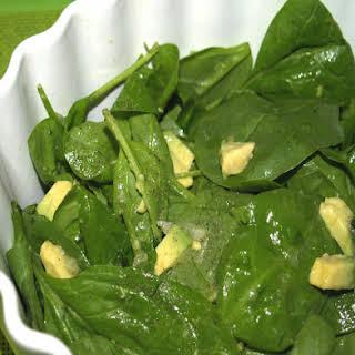 Baby Spinach Avocado Salad Recipes.