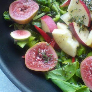 Fig, Apple, and Arugula Salad