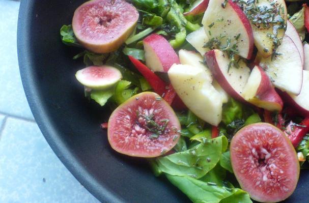 Fig, Apple, and Arugula Salad Recipe