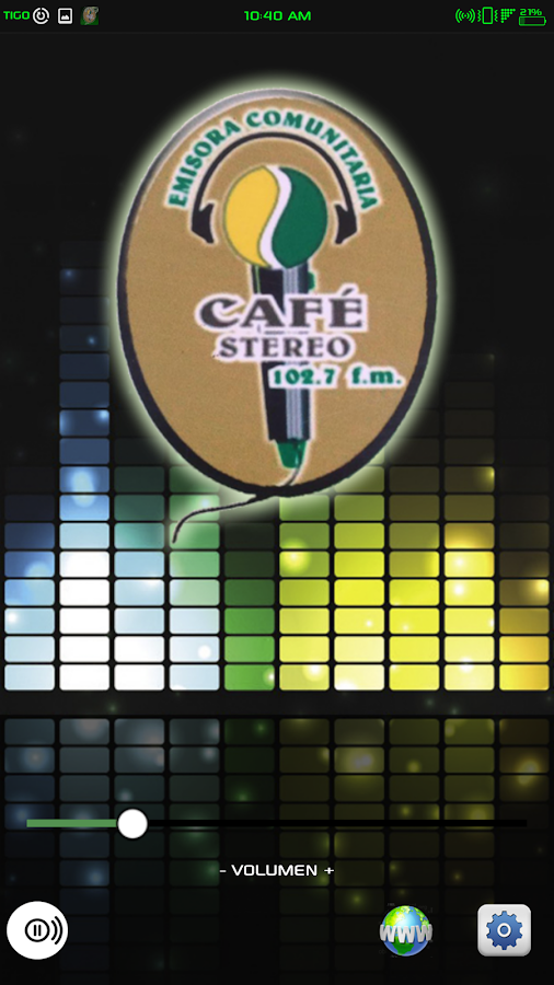 Cafe Stereo- screenshot