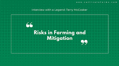 Risks in farming and mitigation