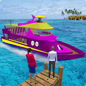 Water Taxi 2: Cruise Ship Transport 3D