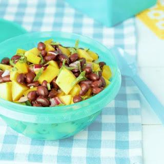 Black Bean Salad with Mango, Cilantro and Lime Recipe