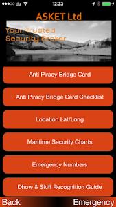 ASKET Maritime Security App screenshot 0