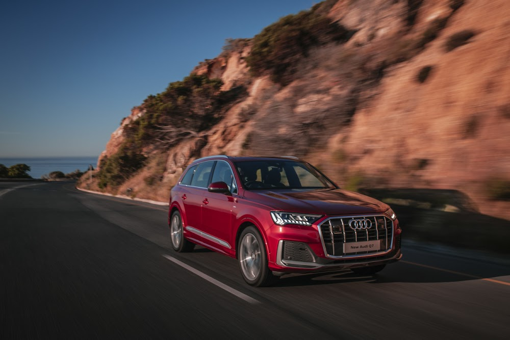 2020 Audi Q7 gets a bold new face and improved interior tech
