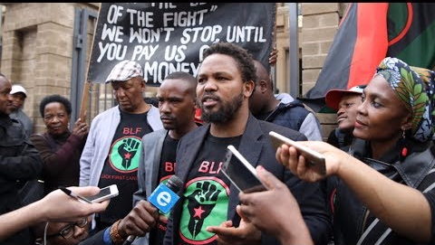 BLF slates human rights commission for supporting 'white interests' in Equality Court case