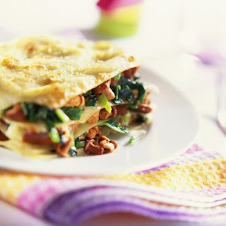 Spinach and Mixed Mushroom Lasagne