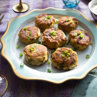 Crab Cakes with Tartar Sauce.