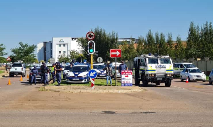 Members of the driving schools marched to the RTMC offices in Centurion in the morning and proceeded to the Gauteng department of roads and transport later.
