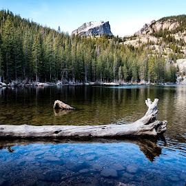 Estes Park by Mike Hotovy - Landscapes Mountains & Hills