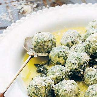 Spinach and Ricotta Dumplings (Gnudi) Recipe
