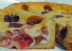 Photo: アーリーリバー種プルーンのタルト@焼き菓子がらがらどん 北八ヶ岳の小さなケーキ工房