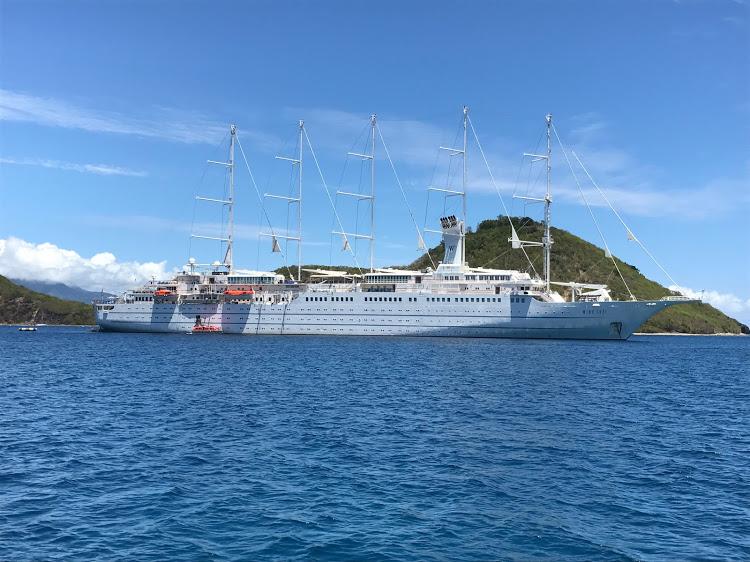 Visit Athens, Ephesus and the legendary islands of Santorini and Mykonos aboard Wind Surf.
