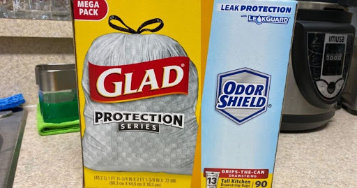 Glad Tall Kitchen Trash Bags 90-Count Only $9.78 Shipped for Amazon Prime Members