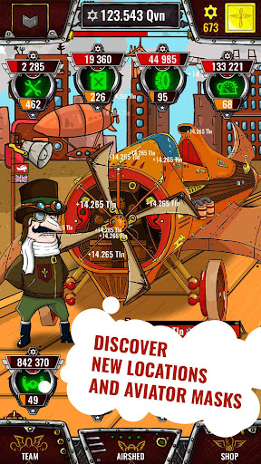 Aviator Incredible Adventure - Clicker for PC