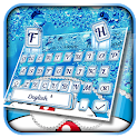 Blue Cat Shiny Diamond Keyboard Theme💎 icon