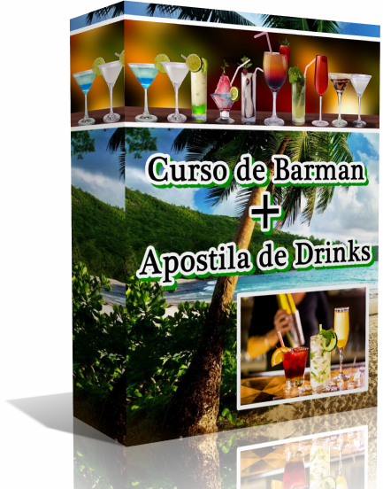 Curso De Barman + Apostila De Drinks