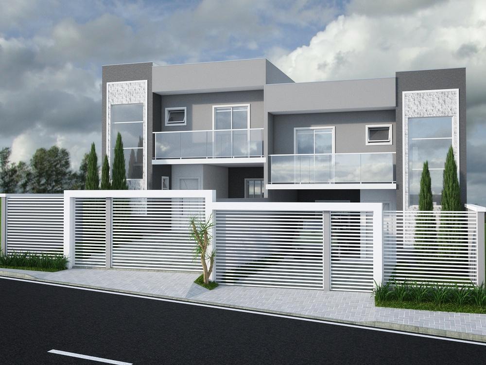 Sobrado residencial à venda, Jardim Carvalho, Ponta Grossa.