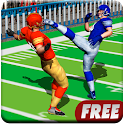Football Rugby Players Fight icon