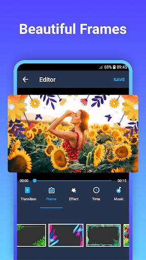 Video maker with photo & music 1.0.2 screenshots 2