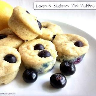 Lemon & Blueberry Mini Muffins