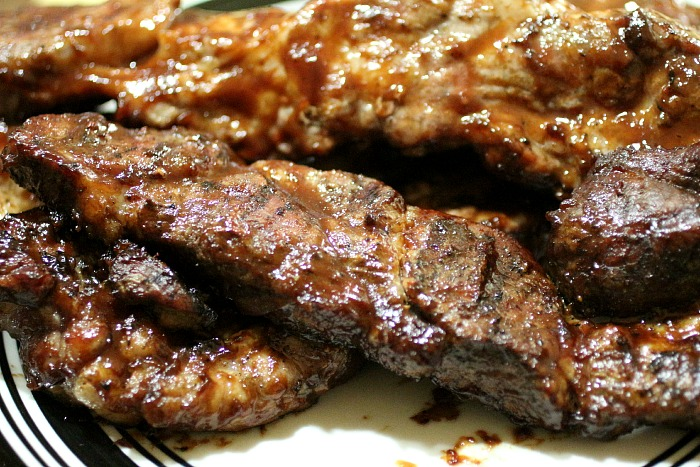 Grilled BBQ Country Style Ribs