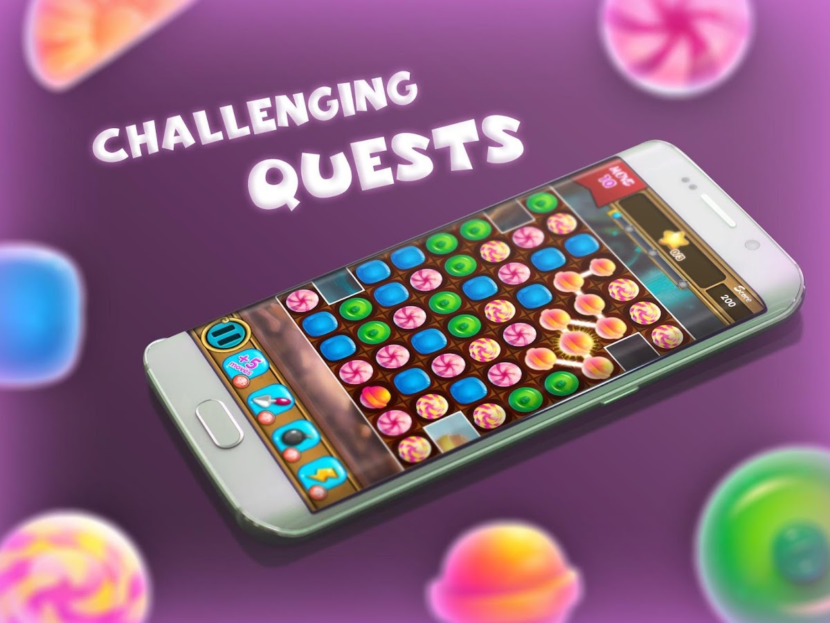 Puzzle Games: Candy, Jelly & Match 3- screenshot