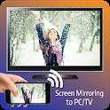 Screen mirroring Mobile to PC/TV icon