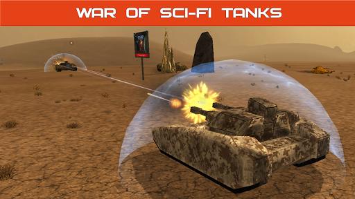 Tank Combat : Future Battles  captures d'u00e9cran 10