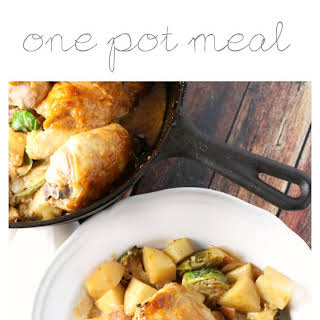 BBQ Chicken One Pot Meal.