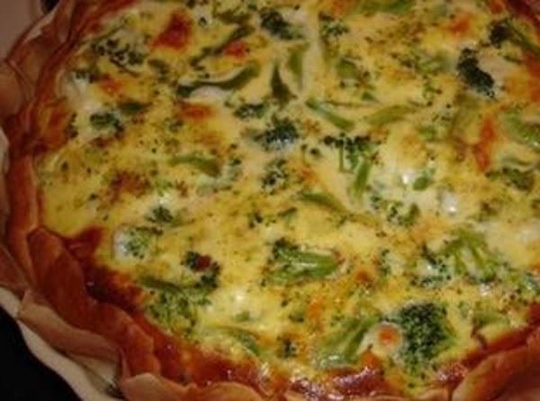 Broccoli & Bacon Quiche Recipe