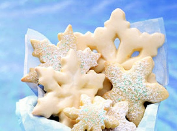 Sparkling Sour Cream Sugar Cookies Recipe
