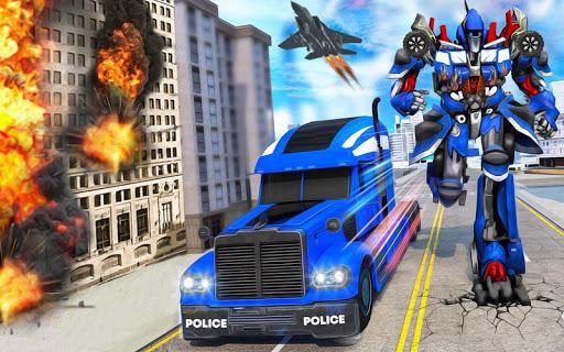 Indian Police Robot Transform Truck 1.13 Screenshots 2