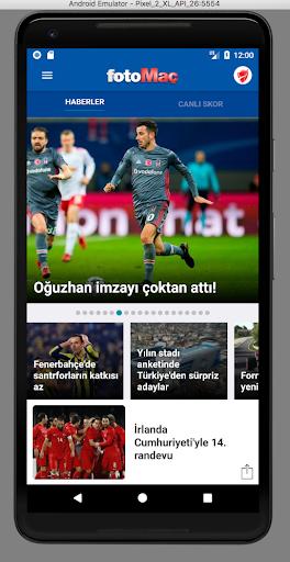 FOTOMAÇ–Son dakika spor haberleri, maç sonuçları 5.4.7 screenshots 1