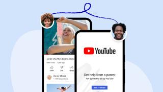 Móviles con capturas de pantalla de YouTube