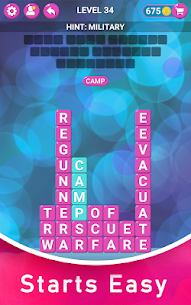 Words in Puzzles – Find Secret Words Using Letters 4