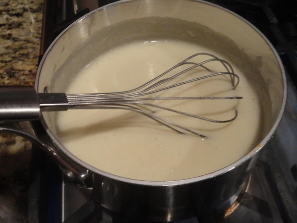Cook the butter and flour mixture for 4-5 minutes, stirring constantly to prevent burning....