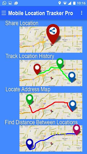 Mobile Location Tracker Pro