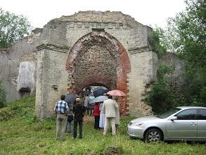 Photo: Входим а развалины Молосковитской церкви