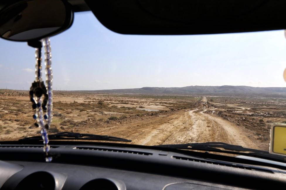 Qobustan, droga do wulkanów błotnych