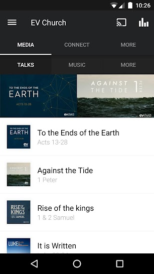 EV Church screenshot for Android