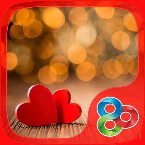 Love Hearts GO Launcher Theme 個人化 App LOGO-硬是要APP