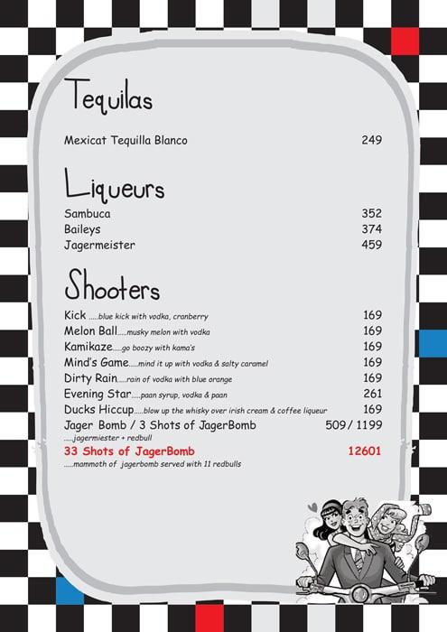 Pop Tate's menu 4